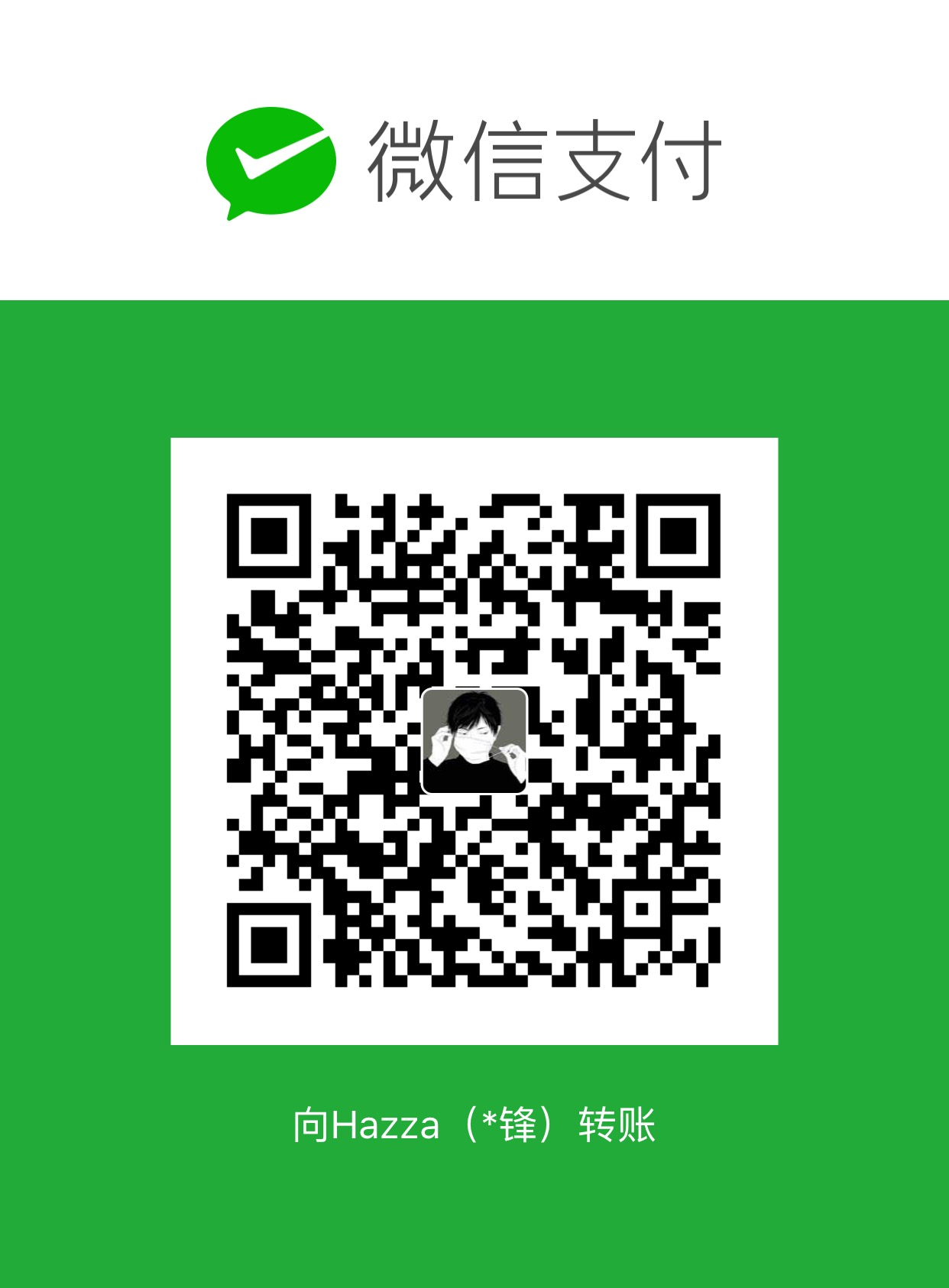 Hazza Cheng WeChat Pay